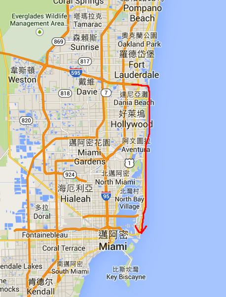 FFL to Miami Beach